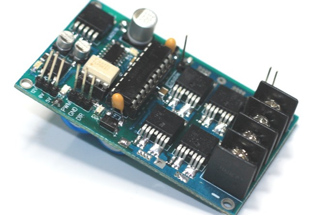 Robots High Current Dc Motor Driver Schematic Circuit And Pcb