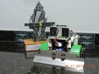Paladino Sumo Robot / UFFight Robótica – 2015