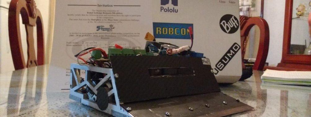 Impala Sumo Robot