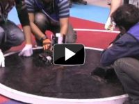 From 22th Kanto Sumo Tournament – The Fastest Sumo Robot But Smoky